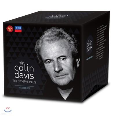 Colin Davis 콜린 데이비스 교향곡 작품집 (The Symphonies 54CD)