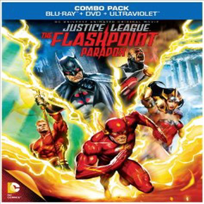 Justice League: The Flashpoint Paradox (저스티스리그: 플래시포인트 파라독스) (한글무자막)(Blu-ray) (2013)