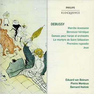 드뷔시: 관현악 작품집 (Debussy: Works for Orchestral)(CD) - Eduard van Beinum