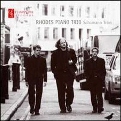 슈만: 피아노 삼중주 1, 2번 (Schumann: Piano Trios)(CD) - Rhodes Piano Trio