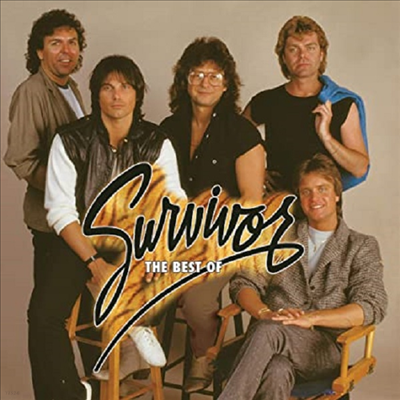Survivor - Best Of Survivor: Greatest Hits (Ltd. Ed)(Gatefold)(Poster)(180G)(Orange & Red Vinyl)(2LP)