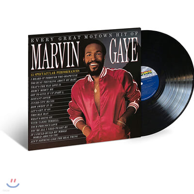 Marvin Gaye (마빈 게이) - Every Great Motown Hit Of Marvin Gaye: 15 Spectacular Performances [LP]