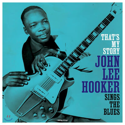 John Lee Hooker (존 리 후커) - That's My Story [LP]