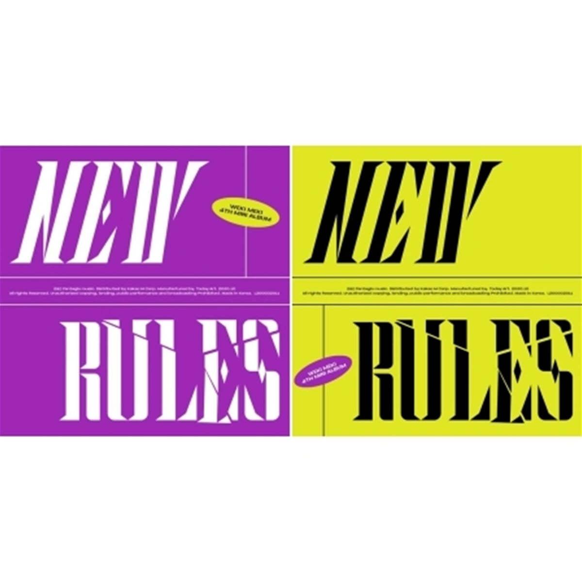 위키미키 (Weki Meki) - 미니앨범 4집 : NEW RULES [Take ver.]