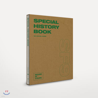 에스에프나인 (SF9) - SF9 Special Album [SPECIAL HISTORY BOOK]