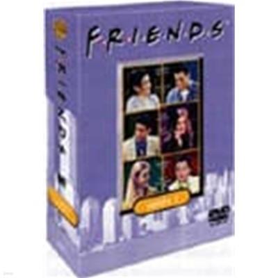 [DVD] 프렌즈 시즌 3 박스세트(양면 3disc) 박스 아웃케이스 없음