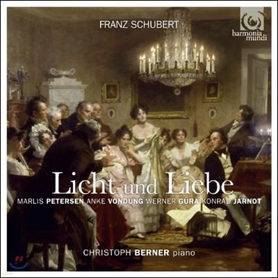 Christoph Berner 슈베르트 가곡 및 사중창 (Schubert: Licht und Liebe)