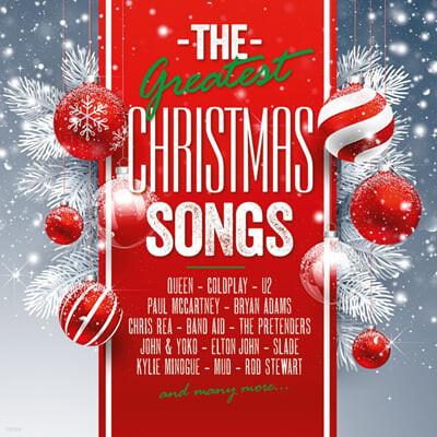 크리스마스 히트곡 모음집 (The Greatest X-Mas Songs) [투명그린 & 레드 컬러 2LP]