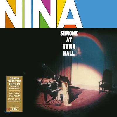 Nina Simone (니나 시몬) - At Town Hall [LP]
