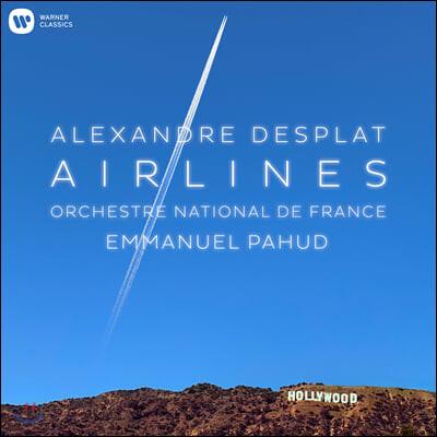 Emmanuel Pahud 플루트와 관현악으로 연주한 알렉상드로 데스플라 영화음악 (Alexandre Desplat: Airlines)