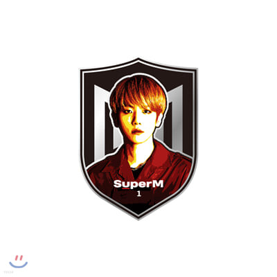 [BAEKHYUN] SuperM SuperOne 카툰뱃지