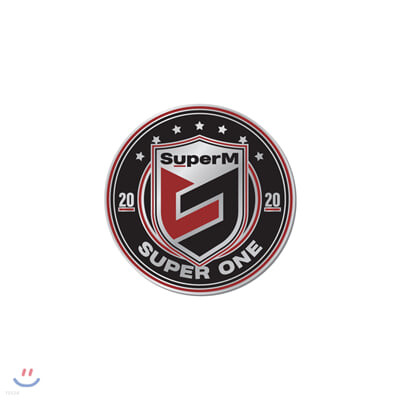 SuperM SuperOne 로고뱃지