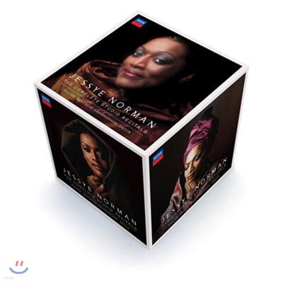 Jessye Norman 제시 노먼 스튜디오 리사이틀 전집 (Complete Studio Recitals)