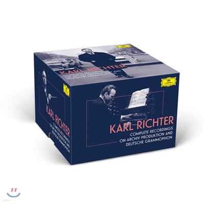 Karl Richter 칼 리히터 DG, Archiv 녹음 전집 (The Complete Recordings on ARCHIV PRODUKTION and Deutsche Grammophon)