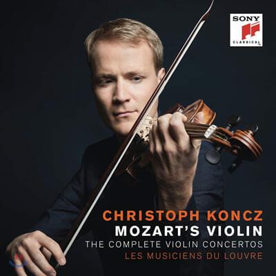 Christoph Koncz 모차르트: 바이올린 협주곡 전곡집 (Mozart: The Complete Violin Concertos)