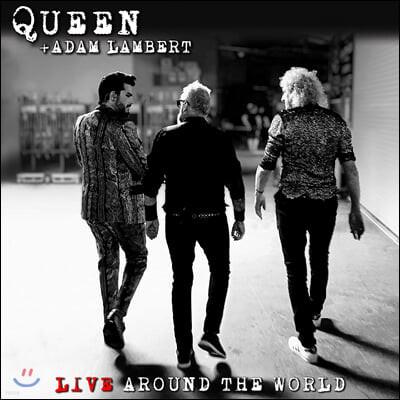 Queen + Adam Lambert (퀸 + 아담 램버트) - Live Around The World [2LP]