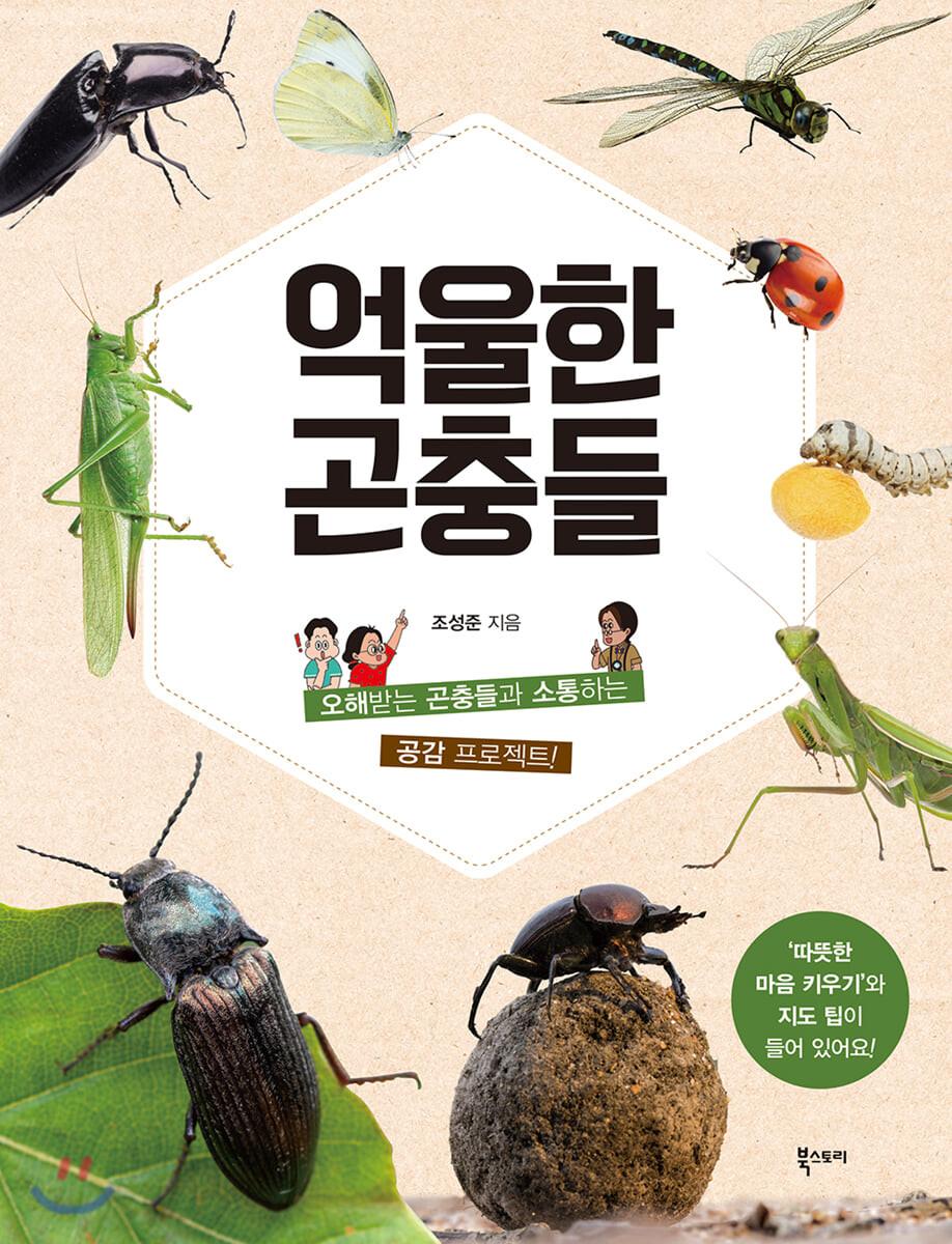 억울한 곤충들