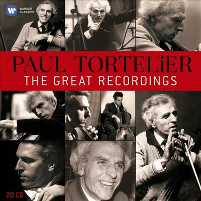 폴 토르틀리에 - 위대한 첼로의 유산 (Paul Tortelier - Great Recordings) (20CD Boxset) - Paul Tortelier