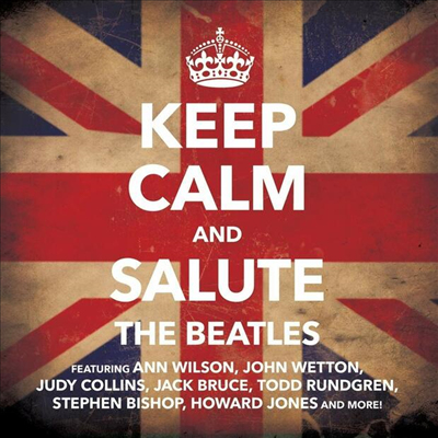 Tribute To The Beatles - Keep Calm & Salute The Beatles (CD)