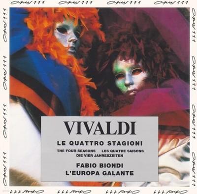 Fabio Biondi / 비발디 - 사계 Le Quattro Stagioni (France반)