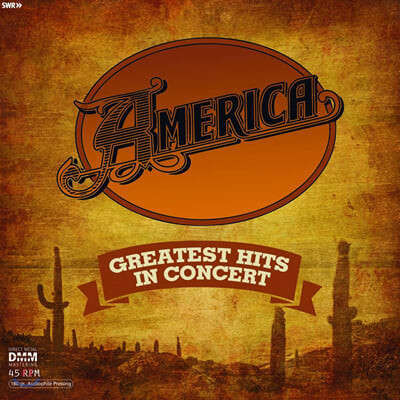 America (아메리카) - Greatest Hits In Concert [2LP]