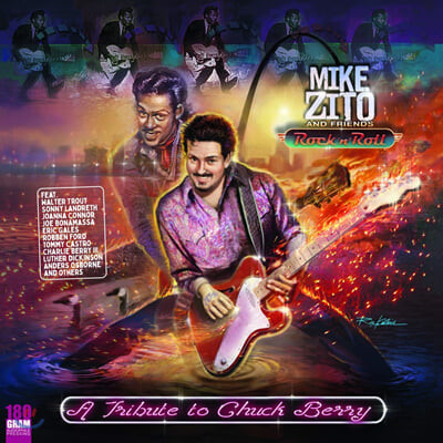 Mike Zito & Friends (마이크 지토 & 프렌즈) - Rock , N' Roll: A Tribute To Chuck Berry [LP]