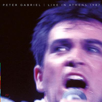 Peter Gabriel (피터 가브리엘) - Live In Athens 1987 [2LP]