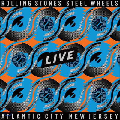 The Rolling Stones (롤링 스톤스) - Steel Wheels Live Atlantic City New Jersey [4LP]