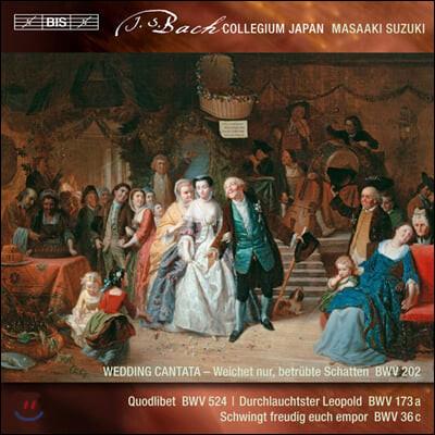 Masaaki Suzuki 바흐: 세속 칸타타 3집 (Bach: Secular Cantatas Vol. 3)