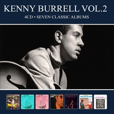 Kenny Burrell - Seven Classic Albums Vol.2 (Digipack)(4CD)