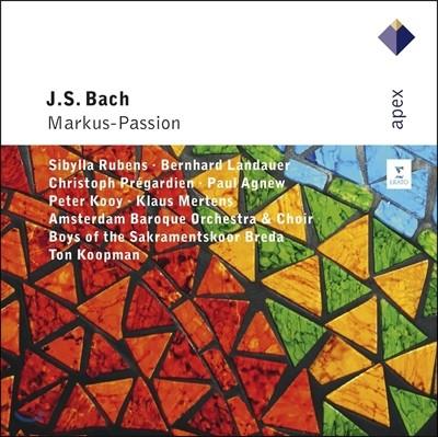 Ton Koopman 바흐: 마가 수난곡 - 톤 쿠프만, 암스테르담 바로크 오케스트라 (J.S. Bach: Markus-Passion BWV247)