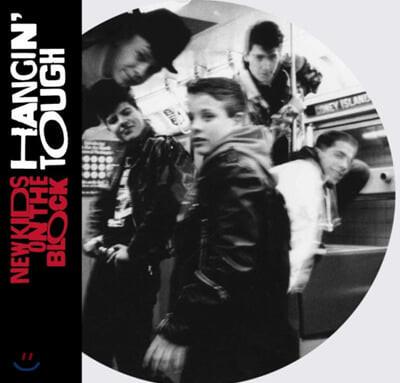 New Kids On The Block (뉴 키즈 온 더 블록) - 2집 Hangin' Tough [픽쳐 디스크 LP]