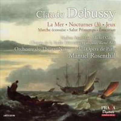 드뷔시: 바다, 야상곡, 놀이 (Debussy: La Mer, Nocturnes, Jeux) (SACD Hybrid) - Manuel Rosenthal