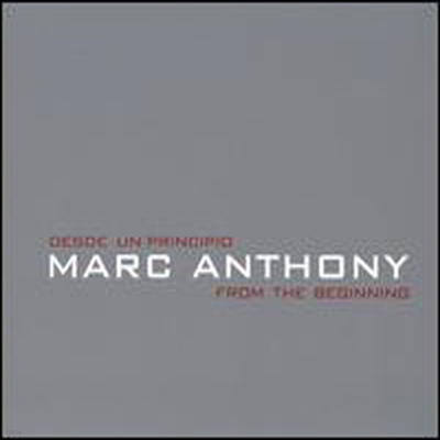 Marc Anthony - Desde Un Principio: From The Beginning (CD)