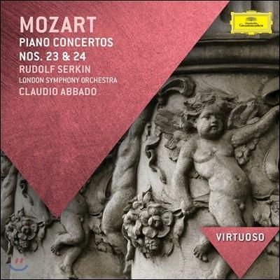 Rudolf Serkin 모차르트: 피아노 협주곡 23, 24번 (Mozart: Piano Concerto K488, K491)