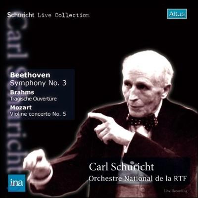 Carl Schuricht 베토벤: 교향곡 3번 `영웅` / 모차르트: 바이올린 협주곡 5번 (Mozart: Violin Concerto No.5 / Beethoven: Symphony No.3) 칼 슈리히트