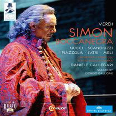 베르디: 시몬 보카네그라 (Verdi: Simon Boccanegra) (Blu-ray)(일본반) (2013) - Leo Nucci