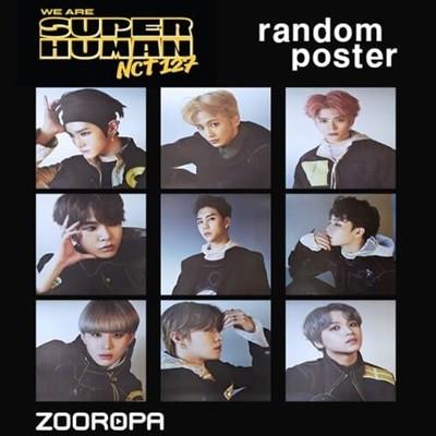 [새상품/포스터] 엔시티 127 (NCT 127) 미니앨범 4집 We Are Superhuman 슈퍼휴먼 (브로마이드 1장+지관통)
