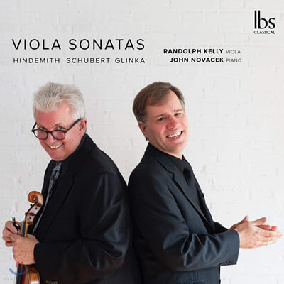 Randolph Kelly 슈베르트 / 힌데미스 / 글린카: 비올라 소나타 (Hindemith / Schubert / Glinka: Viola Sonatas)