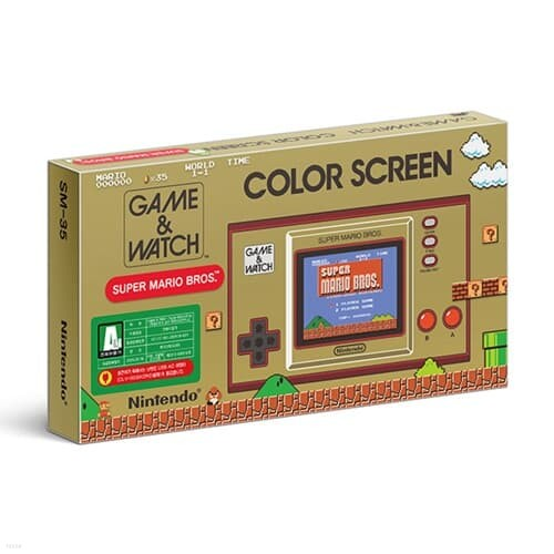 [닌텐도][게임&와치]Game&Watch 슈퍼 마리오브라더스