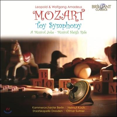 Otmar Suitner 레오폴트 & 볼프강 아마데우스 모차르트: 장난감 교향곡 (Leopold and Wolfgang Amadeus Mozart: Toy Symphony, A Musical Joke)