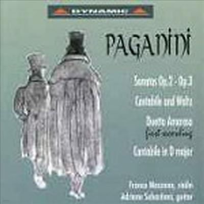 파가니니: 바이올린과 기타를 위한 소나타 (Paganini: Sonatas for Violin and Guitar Op.2, Op.3) - Franco Mezzena
