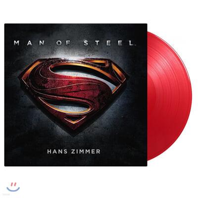 맨 오브 스틸 영화음악 (Man Of Steel OST by Hans Zimmer 한스 짐머) [레드 컬러 2LP]