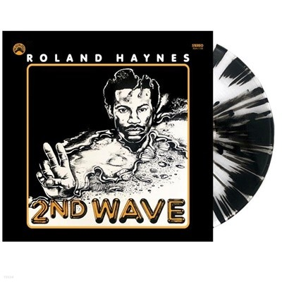 [미개봉 LP] Roland Haynes - 2nd Wave (200장 한정반 / 컬러 Clear with Black Splatter) (US 수입)