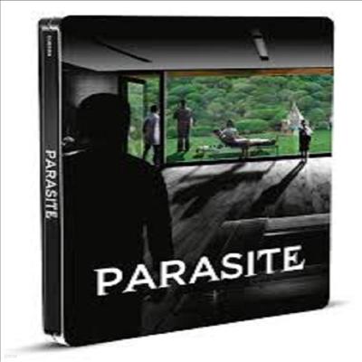 Parasite (Black and White Edition) (기생충 : 흑백판) (Limited Edition Steelbook)(4K Ultra HD+Blu-ray)(한글무자막)