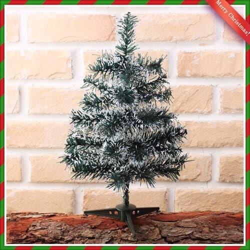 40cm 스카치 눈꽃 트리 크리스마스 탁상 트리