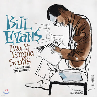 Bill Evans (빌 에반스) - Live At Ronnie Scott's [2LP]