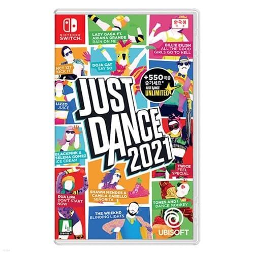 [닌텐도 스위치] 저스트 댄스 2021