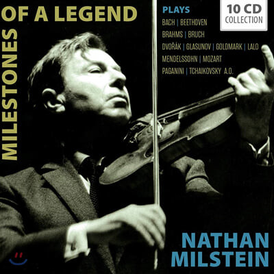 나탄 밀스타인 바이올린 연주집 (Nathan Milstein - Milestones of a Legend)