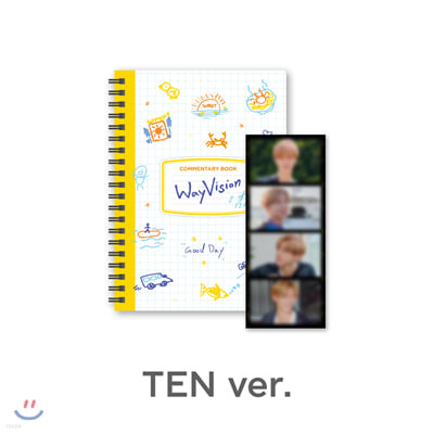 [WayVision] WayV_TEN_코멘터리북+필름SET